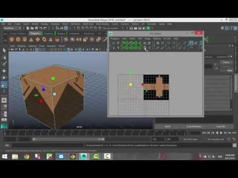 Maya  Texture Tip For Uv Mapping Tutorial By Stuart