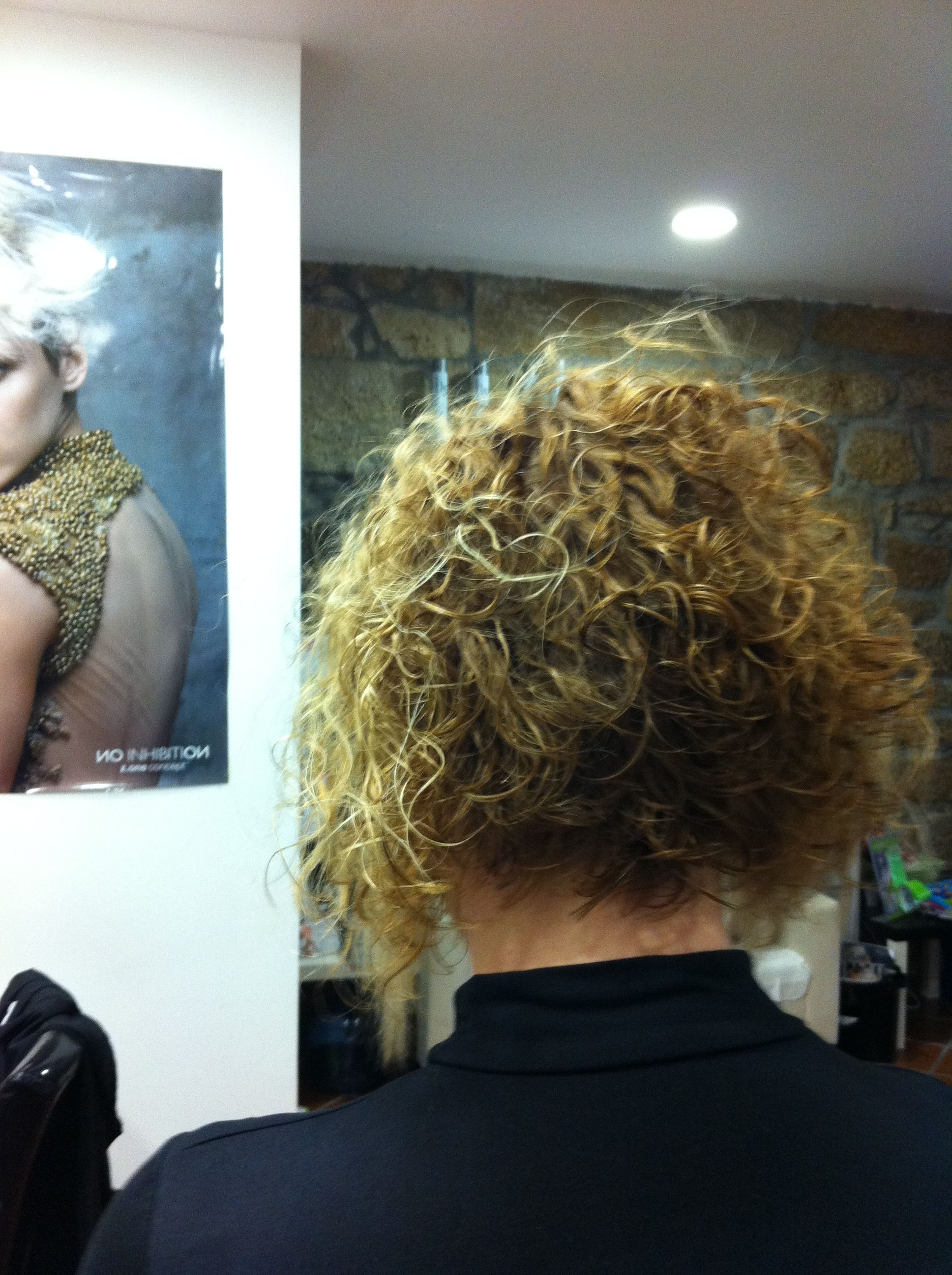 Corte de pelo rebajado en la nuca