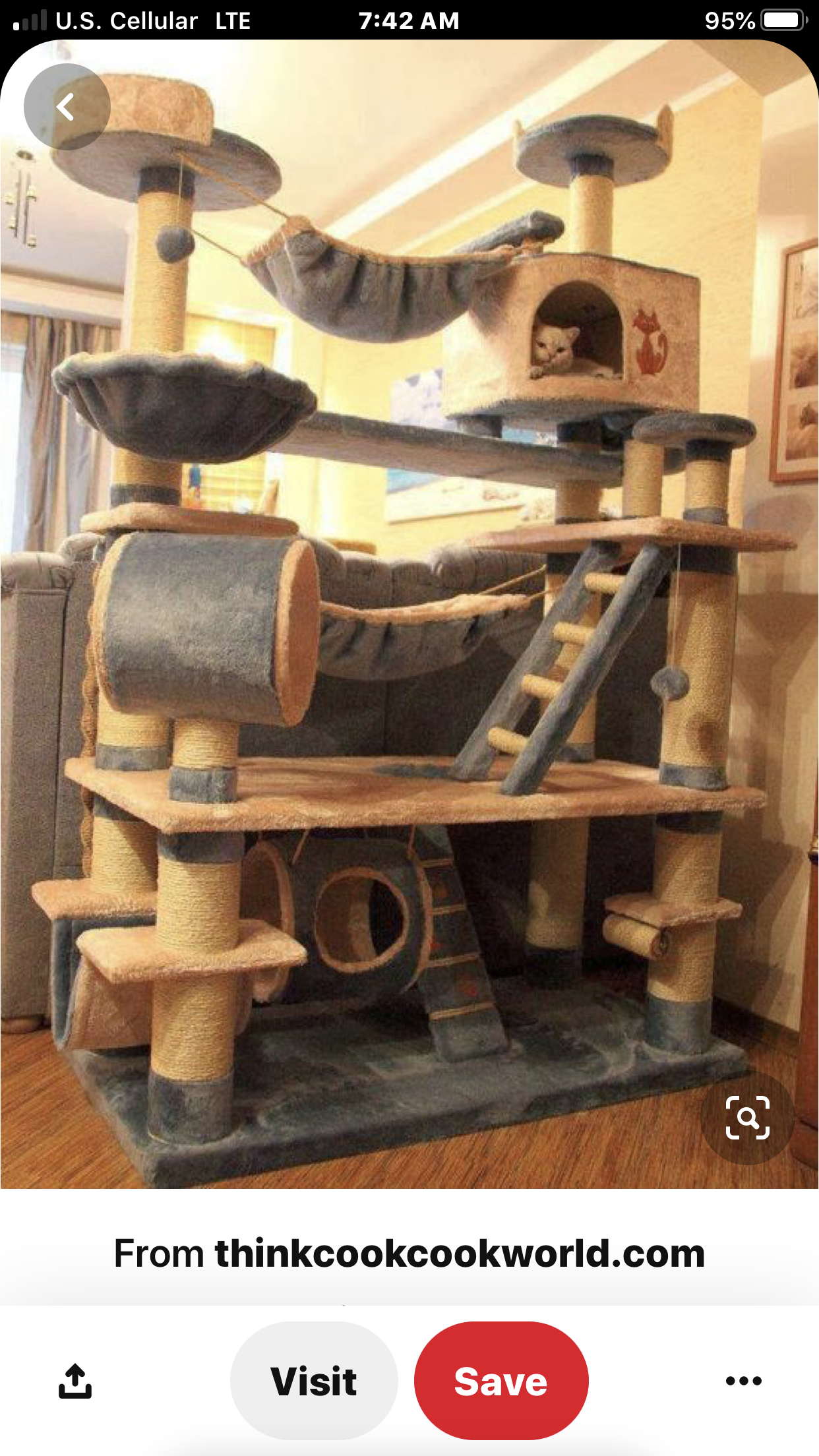 Cat Tree House Plans
