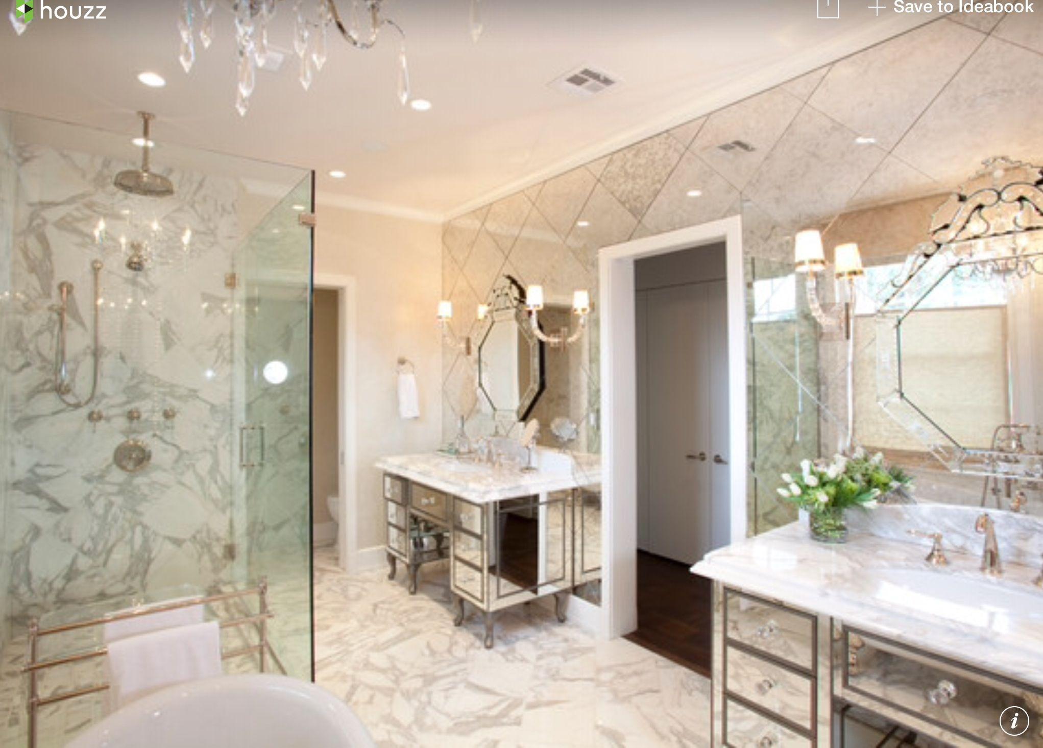 Mirror & Marble Combination