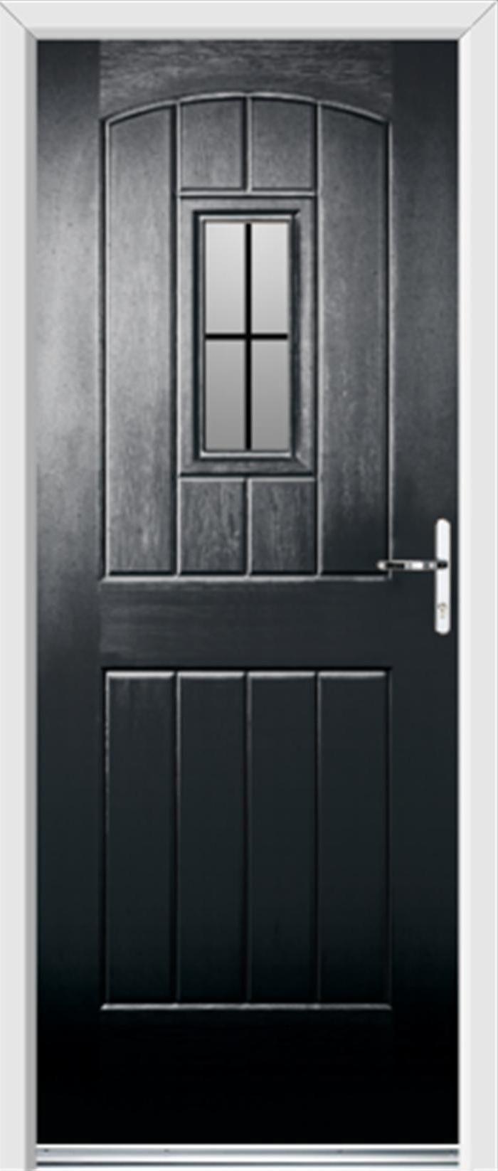 Black Entry Doors   black pvc front door   A New HOME   Pinterest ...