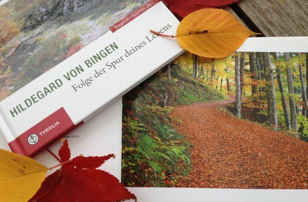 Wenn draußen in der Natur alle Blätter fallen, wenn die Ernte- und Sommerzeit zu Ende geht und die Natur sich auf den kommenden Winter vorbereitet, möchten wir Euch einen Spruch der Hl. Hildegard von Bingen mit auf den Weg geben, der, wie wir finden, gut zur momentanen Herbststimmung draußen passt.