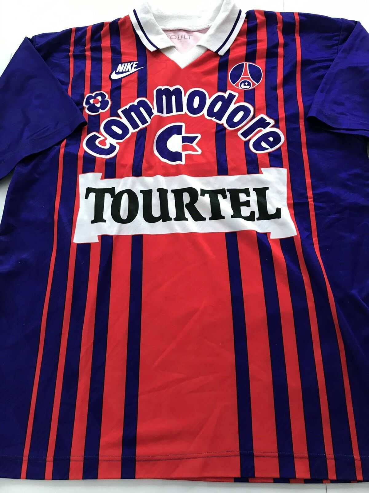 Maillot Football Vintage PSG Paris Nike Taille XL Maillot