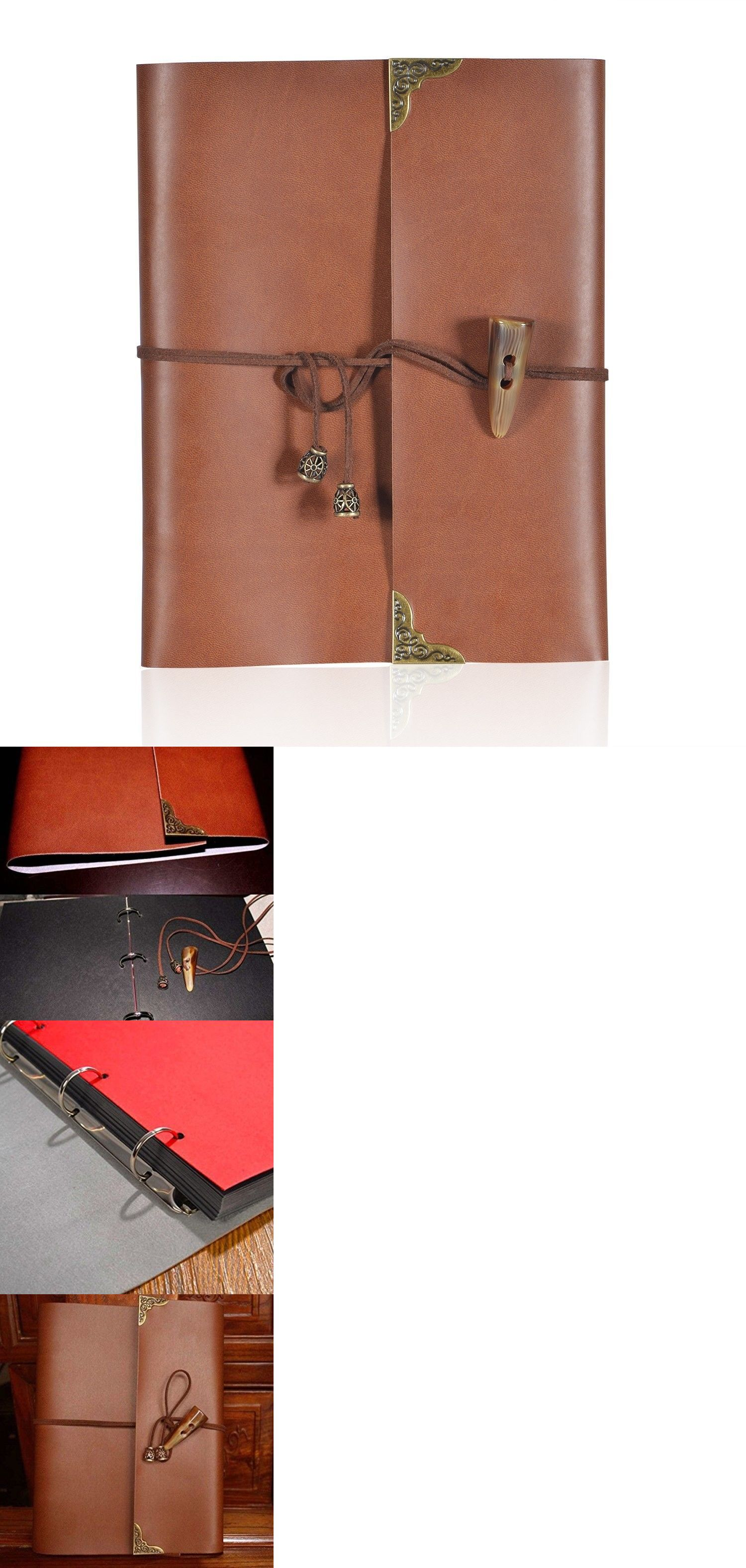 Albums And Refills 33875 Loizau Photo Album Leather Cover Diy