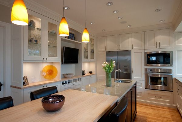 20 Awesome Flat Screen TV Furniture In The Kitchen