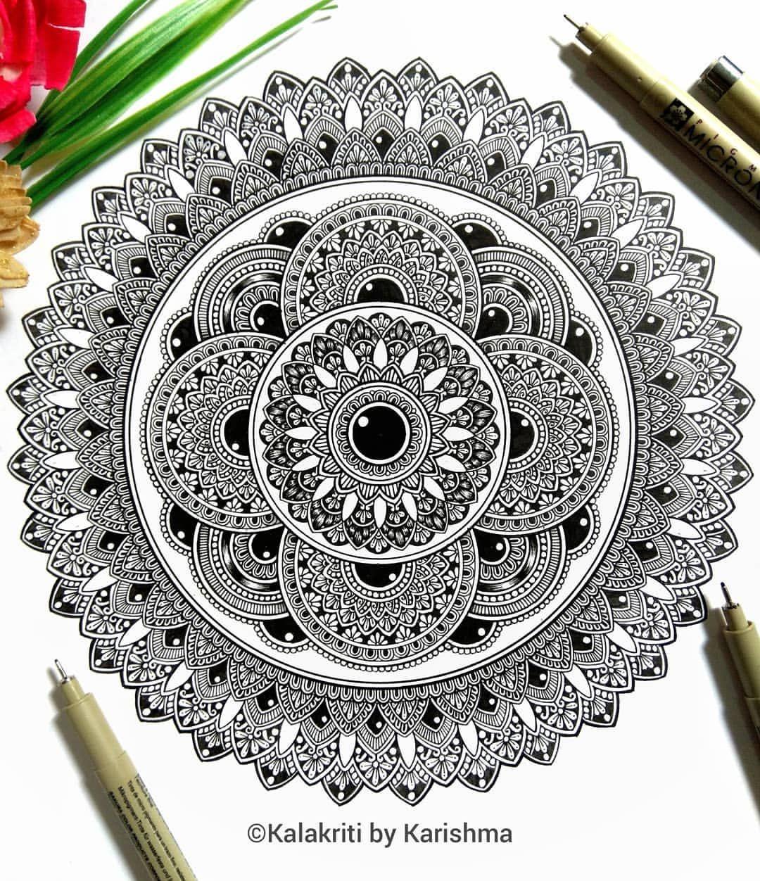 Pin On Stacked Mandalas By Karishma Srivastava