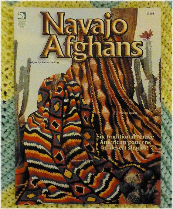 Navajo Afghans Native American Patterns Embroidery Borduren Borduren