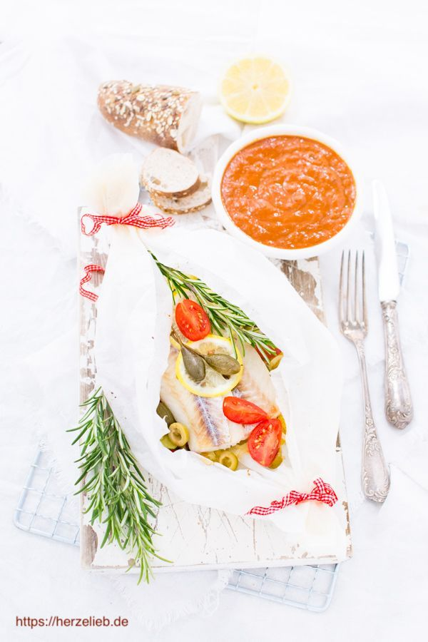 Rezept Fur Seelachs Packchen Yemek Tarifi Delicious Fish