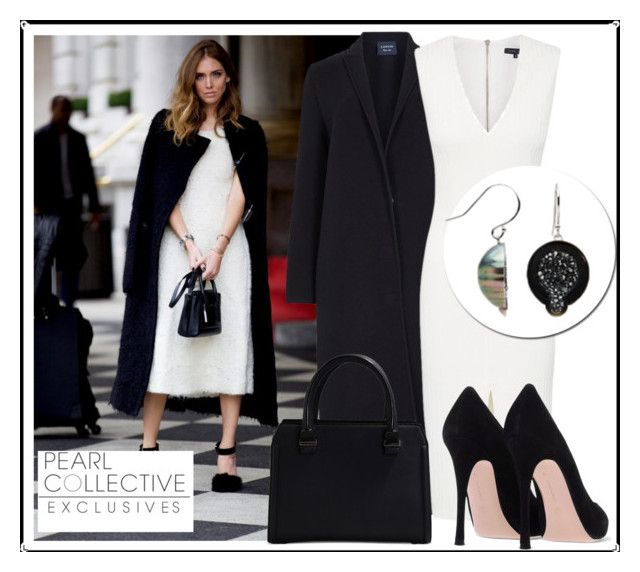 """""""SHOP - Pearl Collective - Earrings"""" by pearlcollective ❤ liked on Polyvore featuring Lanvin, Victoria Beckham and Pearl & Black"""