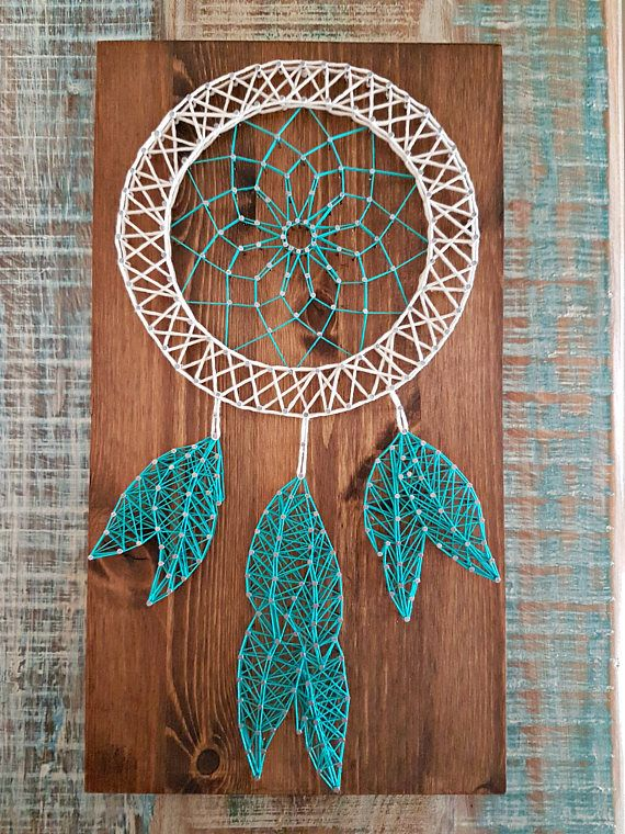Dream Catcher String Art String Art Pinterest String Art