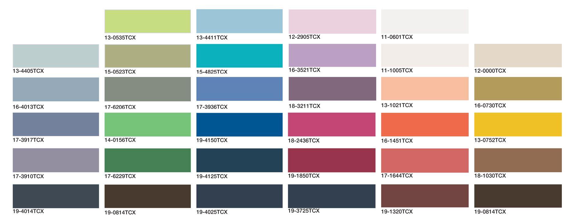 Login Trendpulse Color forecasting, Color, Pie chart