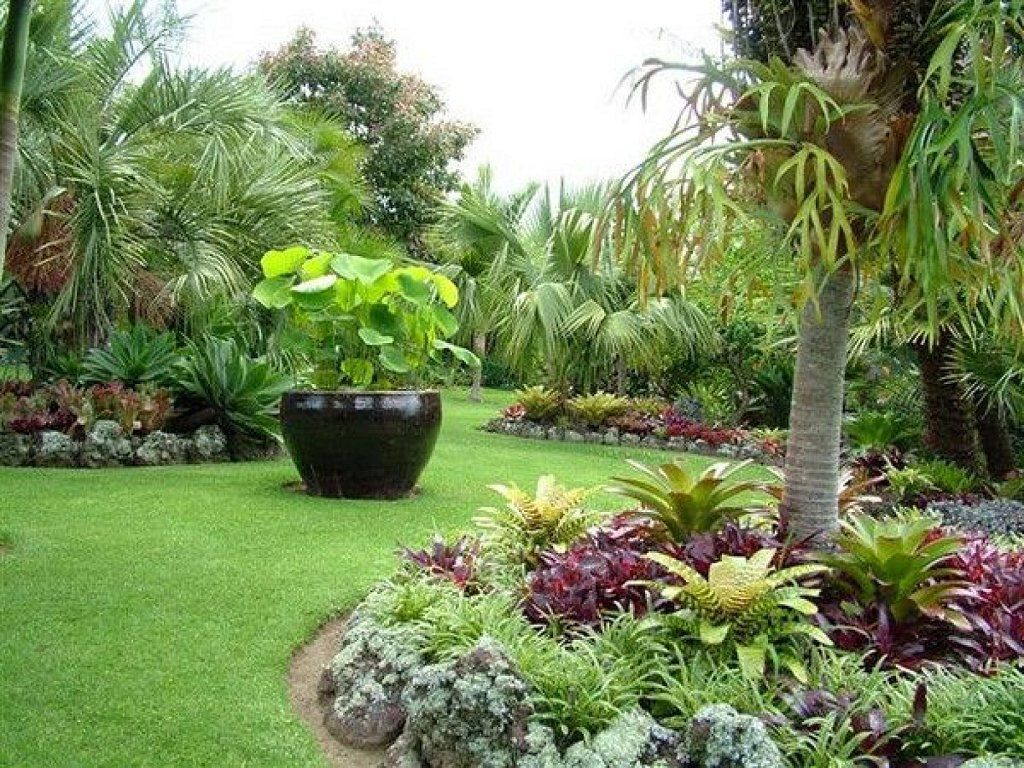 Recopilaci n de jardines tropicales tan bellos que for Tropical garden designs