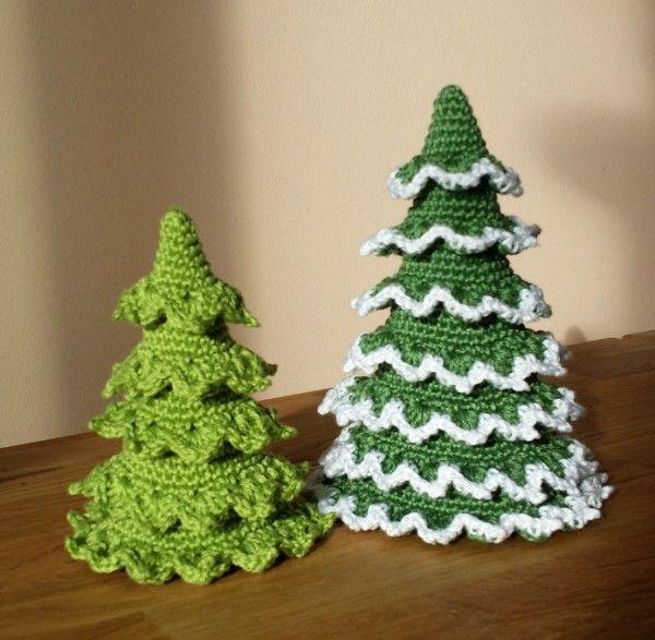 h kelanleitung f r weihnachtsdeko tannenbaum h keln pinterest tannenbaum h kelanleitung. Black Bedroom Furniture Sets. Home Design Ideas