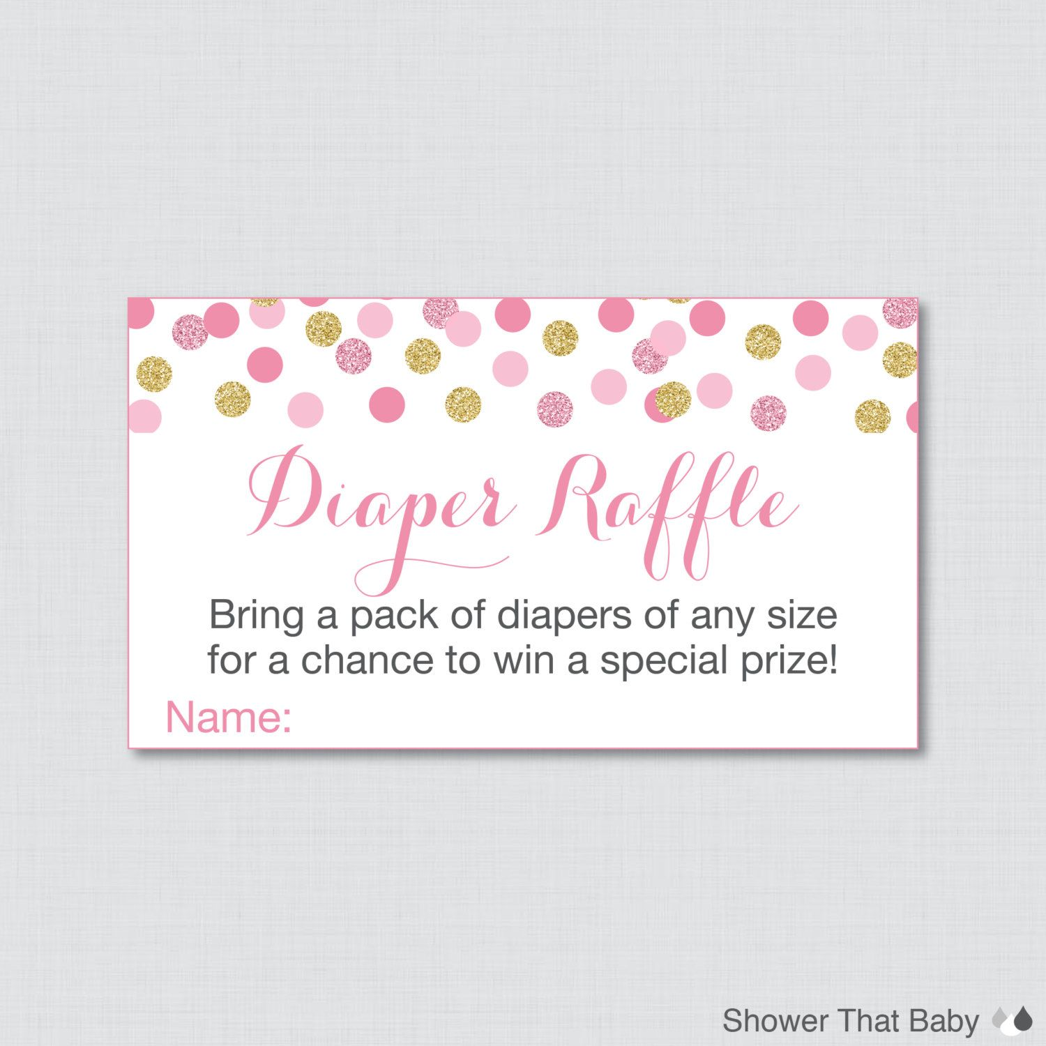pink and gold baby shower diaper raffle ticket cards and diaper pink and gold baby shower diaper raffle ticket cards and diaper raffle sign printable instant