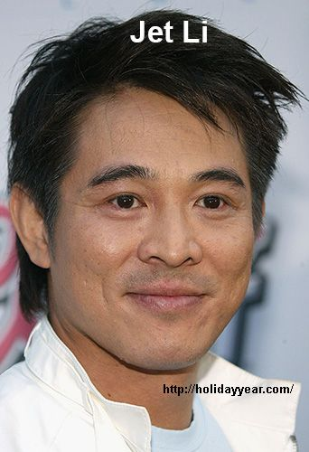 Pin by Holiday year on Famous Birthdays   Jet li, Actor, Asian