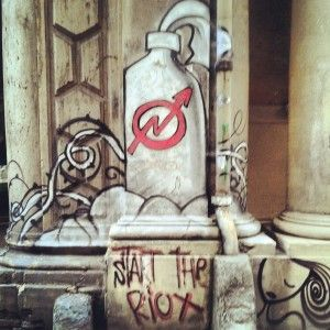 Bologna, Via Zamboni, artista sconosciuto