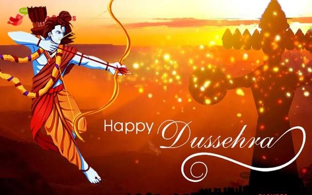 Everyday Sun rises to give us a message that Darkness will always be beaten by Light! Let us follow the same natural phenomena and enjoy the Festival of Good defeats Evil. #HappyVijayadashmi2016 #HappyDussehra