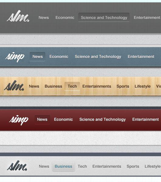 web headers psd ui elements pinterest header templates and