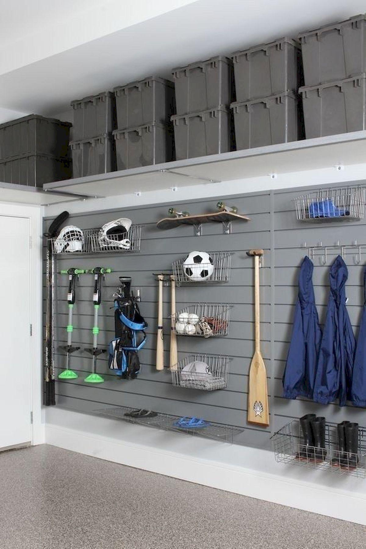 40 Inspiring Diy Garage Storage Design Ideas On A Budget Garage