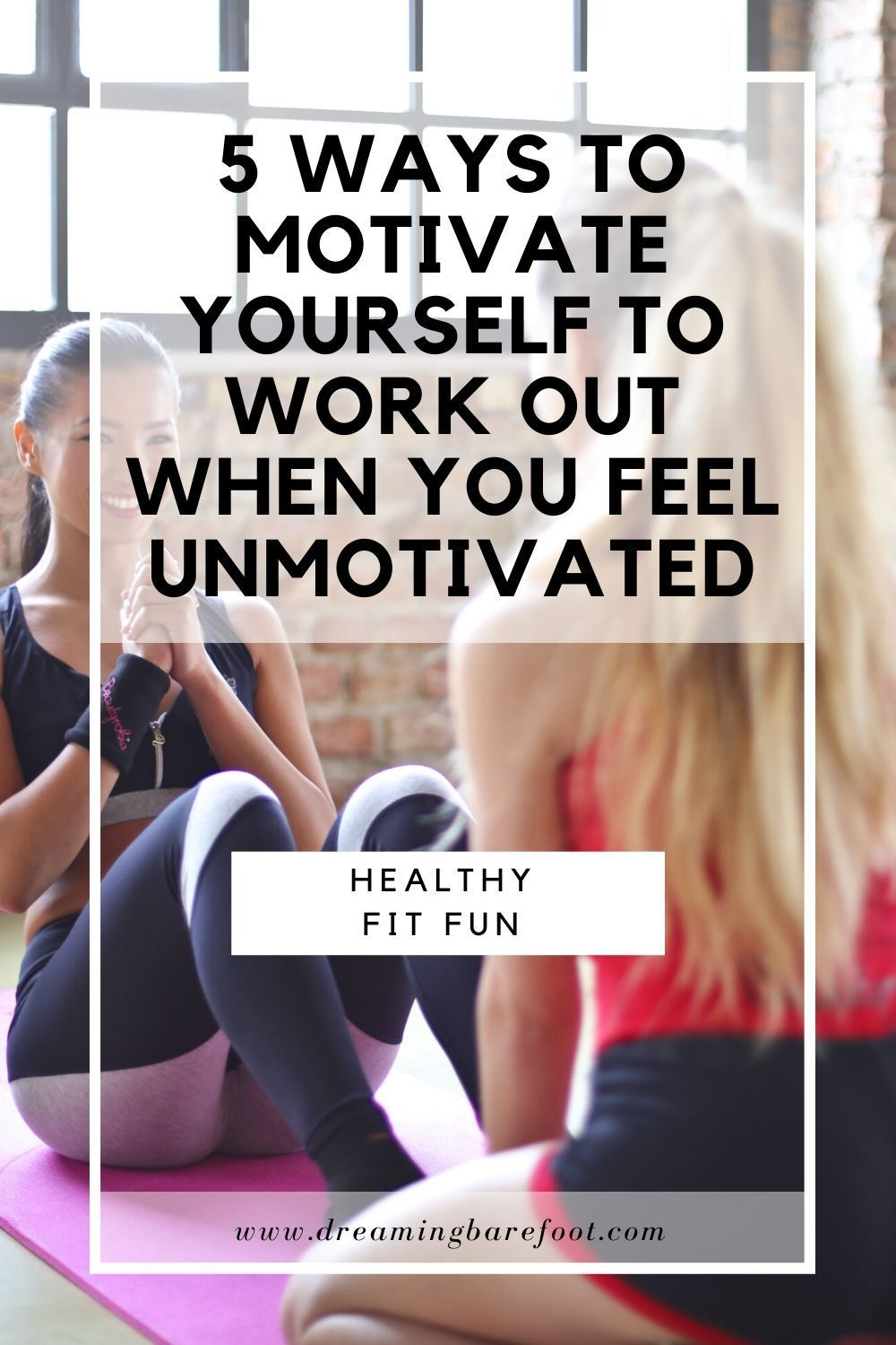 We all know what the many benefits of exercise are, but that doesn't mean that it's always easy to find the motivation to do it. If you need a little extra shove to stop procrastinating and start moving try a couple of these tips. #fitness #workout #gymtime #healthybody #wellness