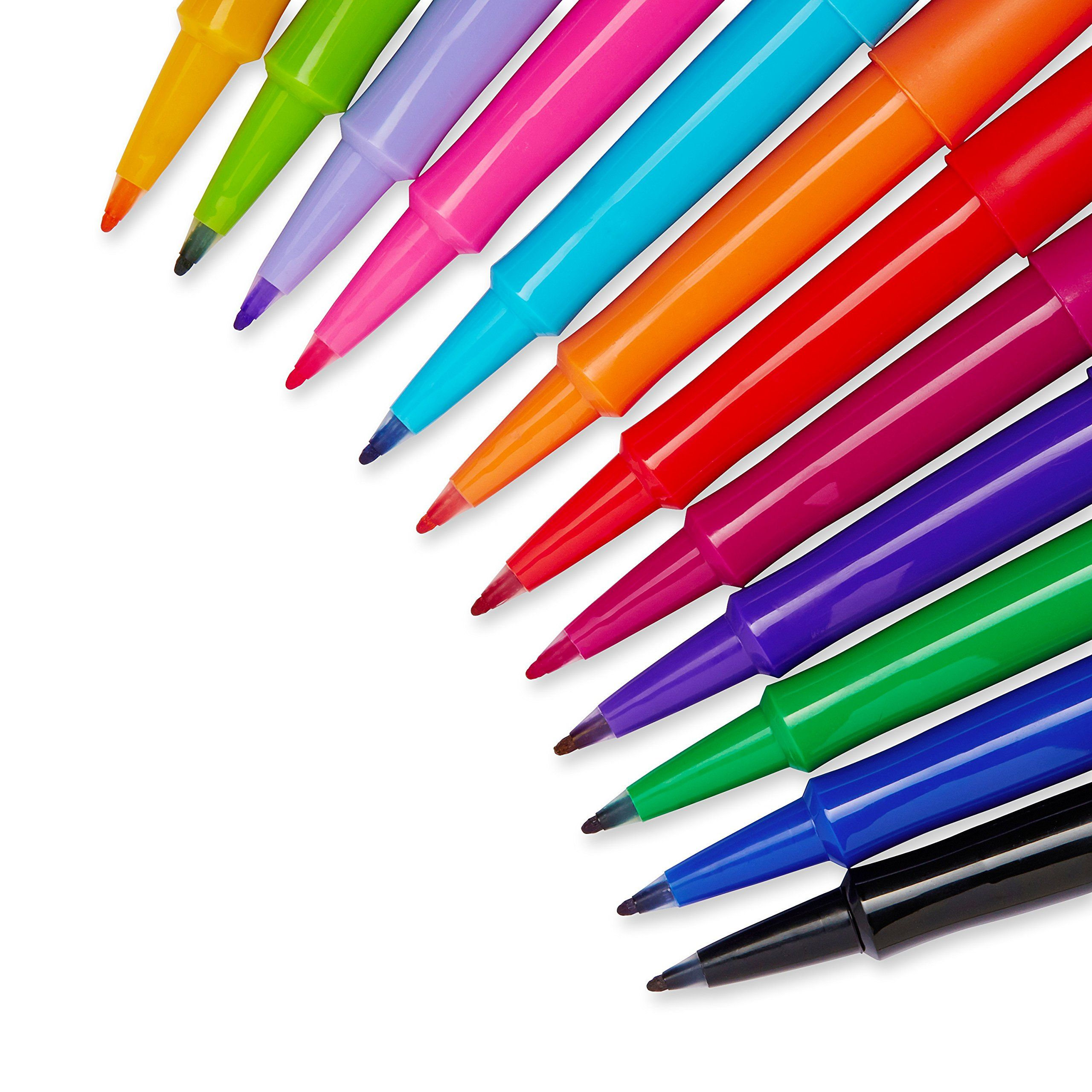 Amazon.com : Paper Mate Flair Porous-Point Felt Tip Pen, Medium Tip, 12-Pack, Fashion Colors (74423) : Papermate Flair : Office Products