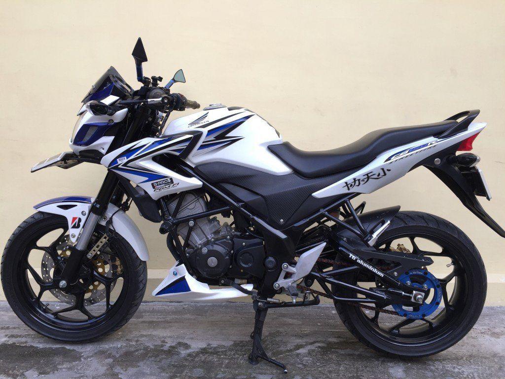 Modifikasi Full Fairing Honda Cb150r Mantep Juga Nih