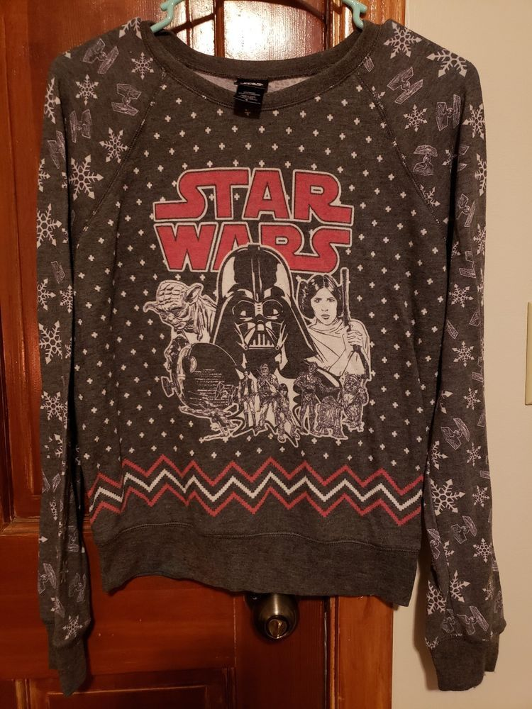 star wars ugly christmas sweater women\u0027s #fashion #clothing #shoes