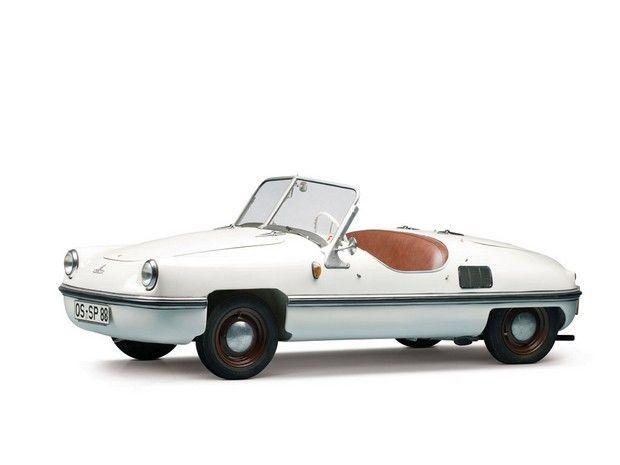 1956 B.A.G. Spatz 200cc. Miccrocar