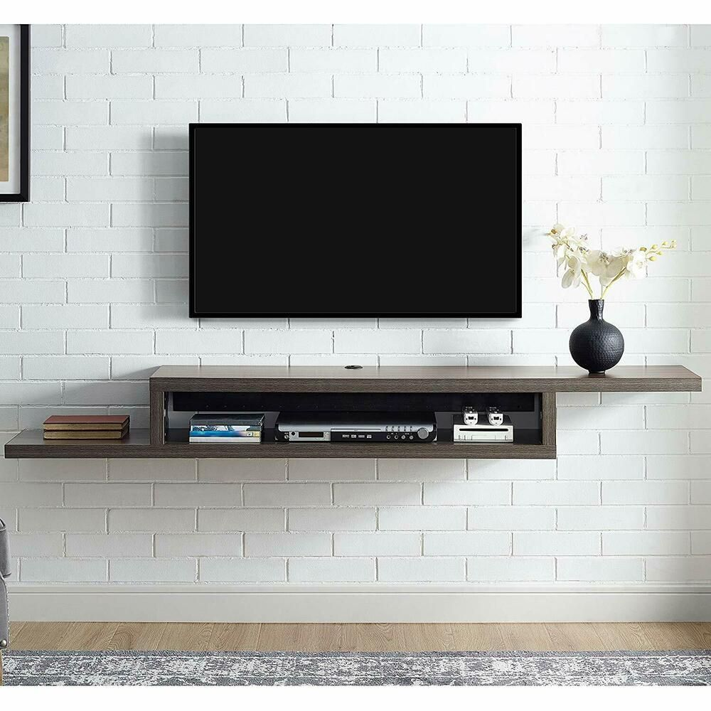 Splendid Floating Shelves Wall Mounted Tv Wall Mounted Tv