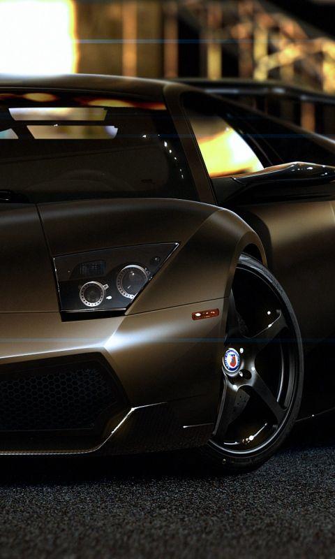 480x800 Wallpaper Lamborghini Murcielago Lp670 4 Sv Front