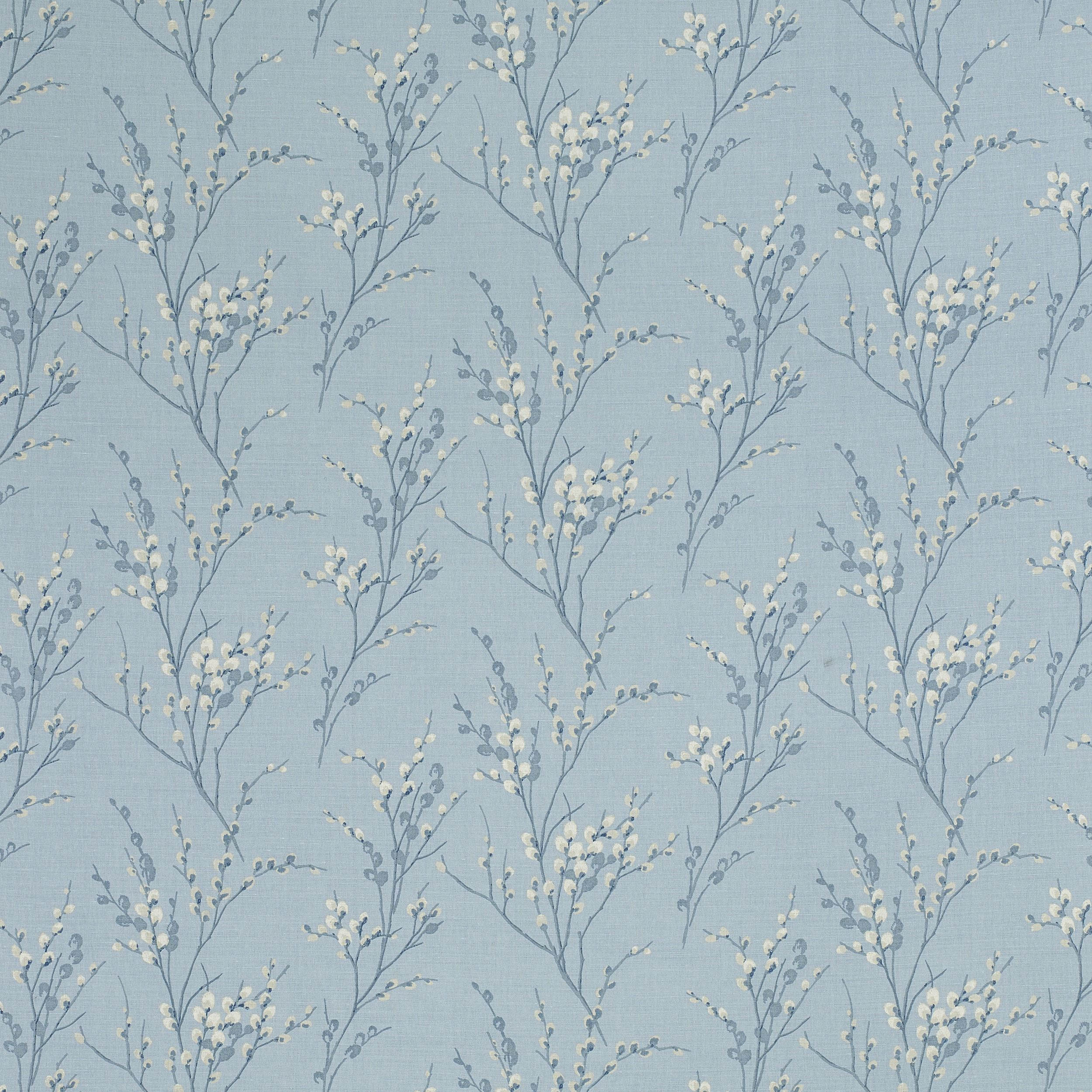 Pussy Willow Seaspray Blue Floral Wallpaper at Laura Ashley
