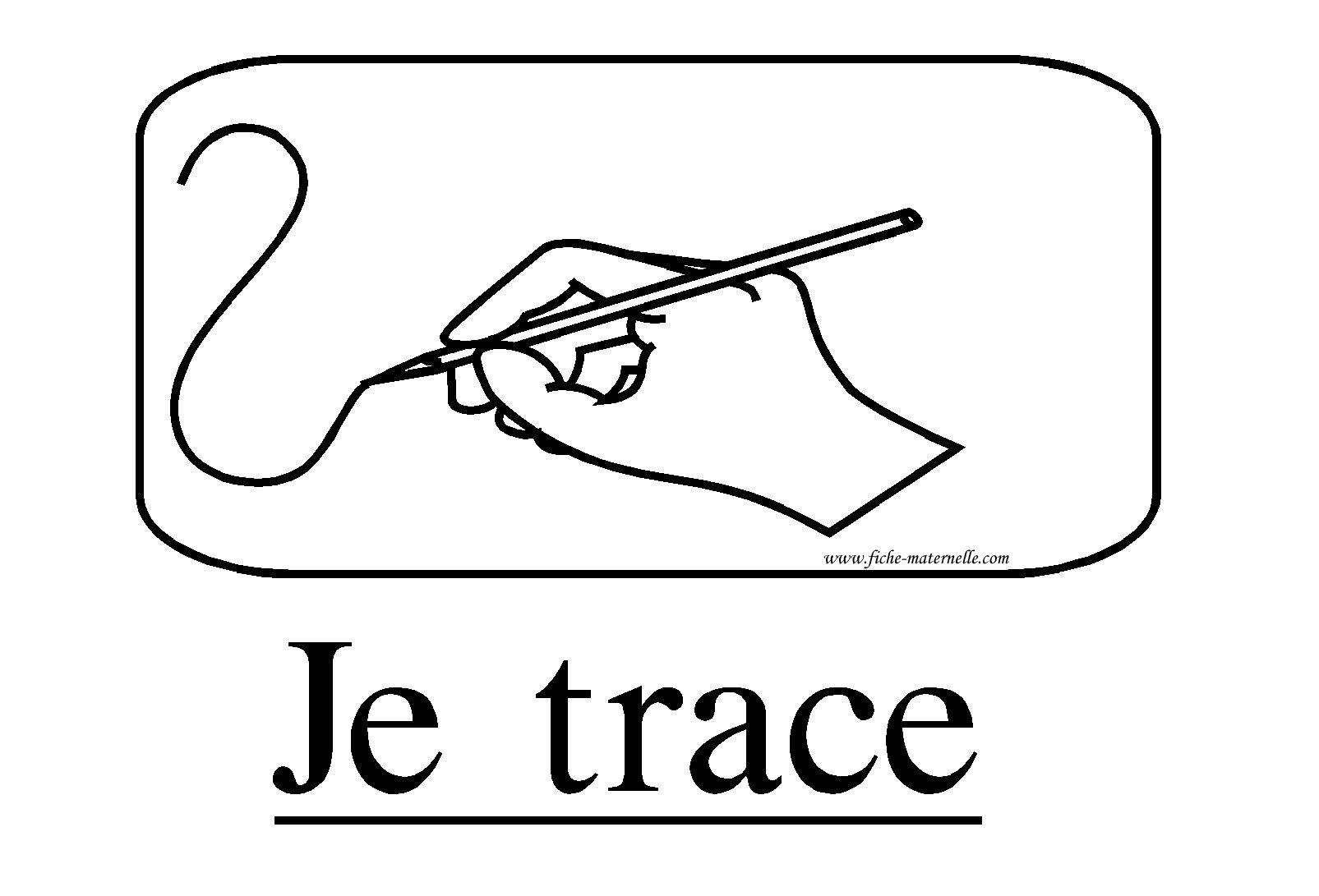 Affichage Classe Consigne Je Trace Consignes Classe Maternelle Exercice Ce1