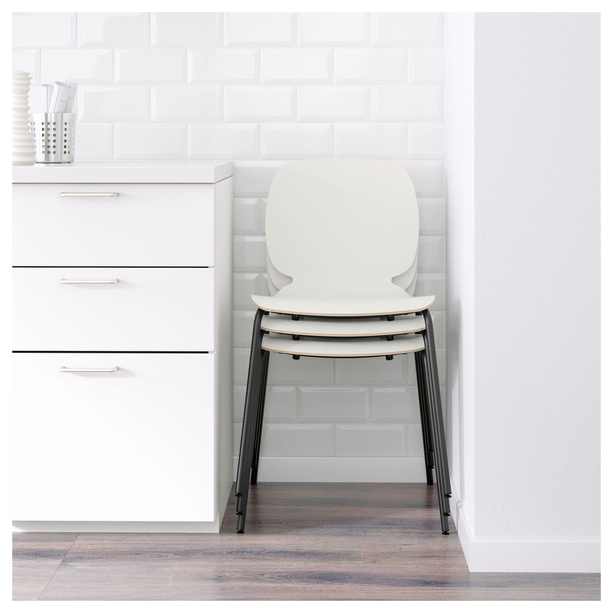 IKEA SVENBERTIL Chair white, Broringe black Ikea chair