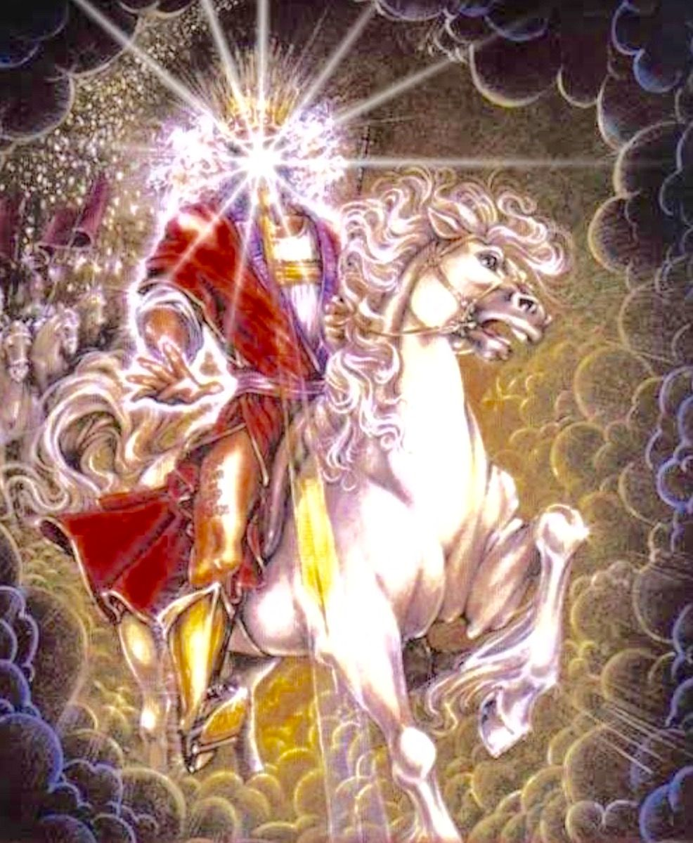 12-2-15 – REMEMBER THIS: JESUS is coming back on a WHITE HORSE!!! | Spiritual artwork, Christian artwork,  White horse