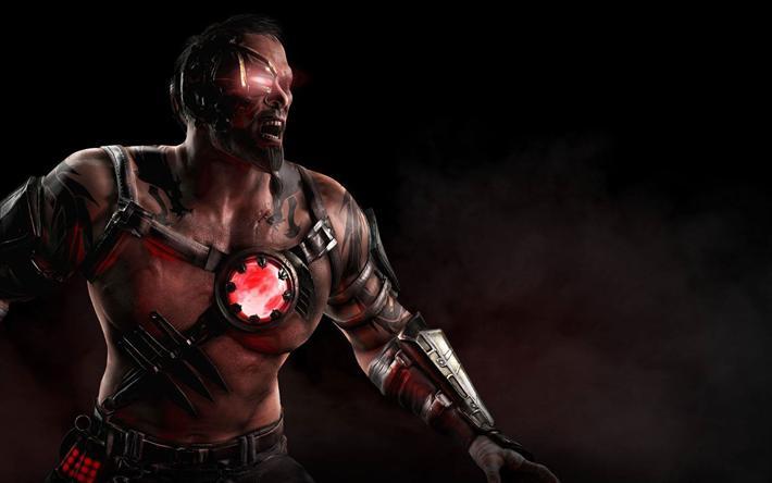 Lataa kuva Kano, 4k, soturi, Mortal Kombat