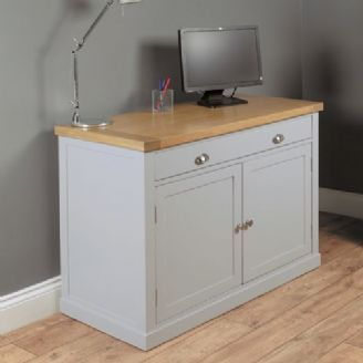 traditional hidden home office desk. Unique Office Chadwick Painted Grey Farmhouse Hidden Home Office Inside Traditional Desk C