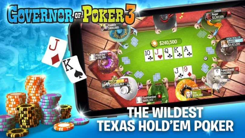 Governor Of Poker 3 Hack And Cheats Online Generator For Android