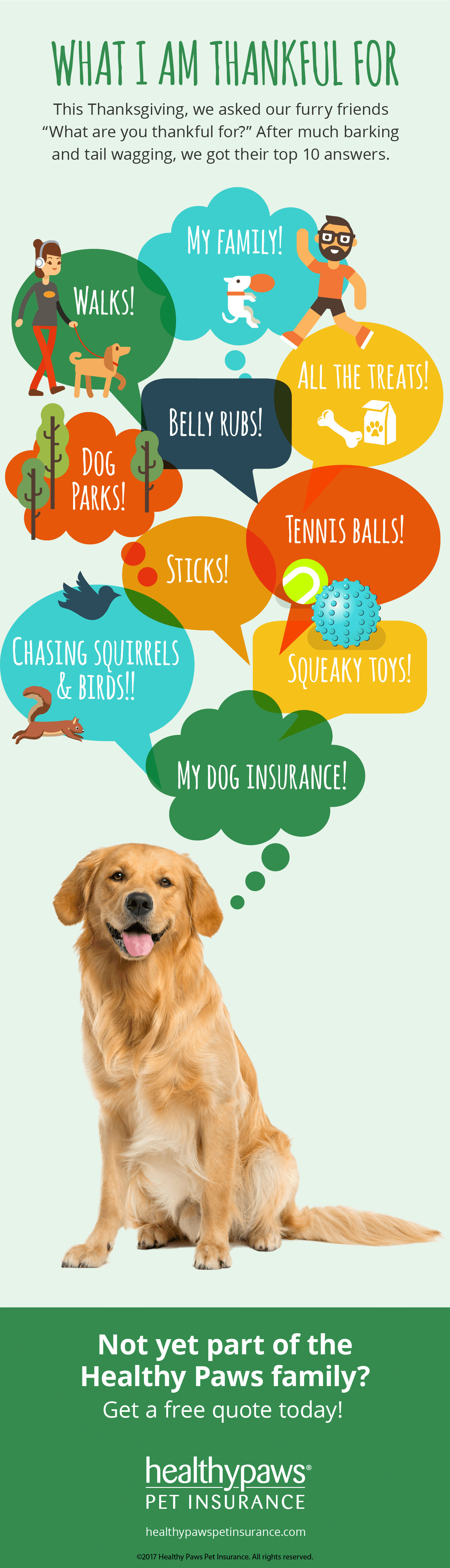 What your dog is thankful for this holiday season! (With ...