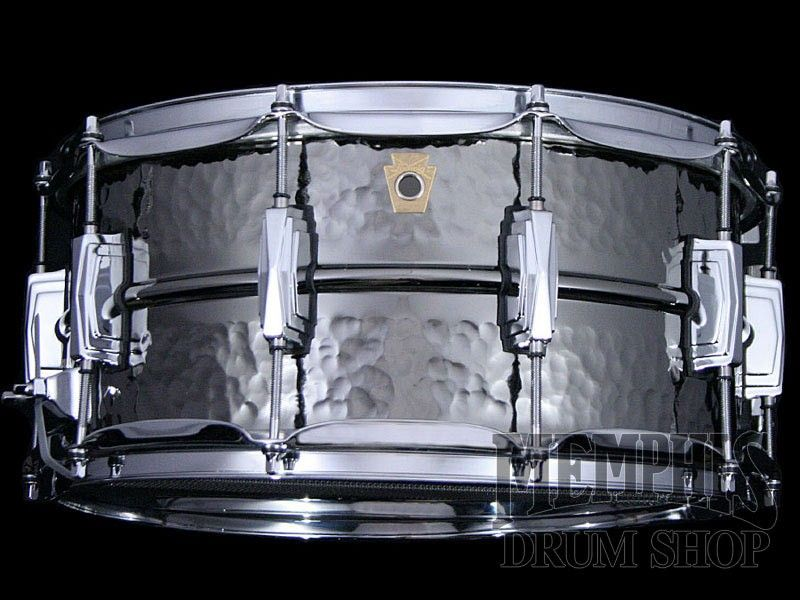 Ludwig 14 x 6.5 Hammered Black Beauty Supraphonic Snare Drum (New ...