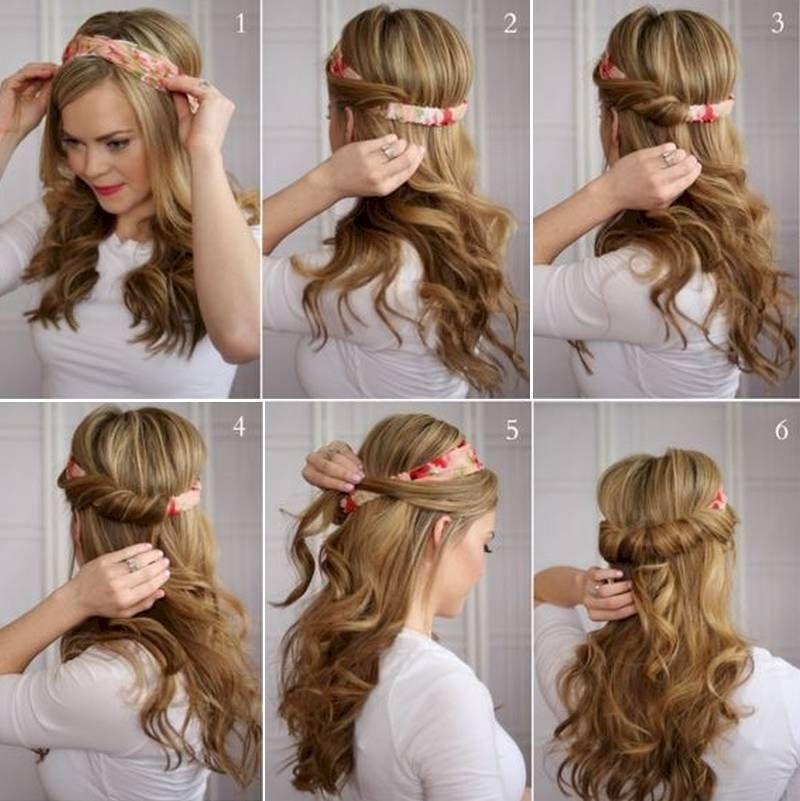 15 peinados sencillos para todas las chicas perezosas - Peinados Sencillos