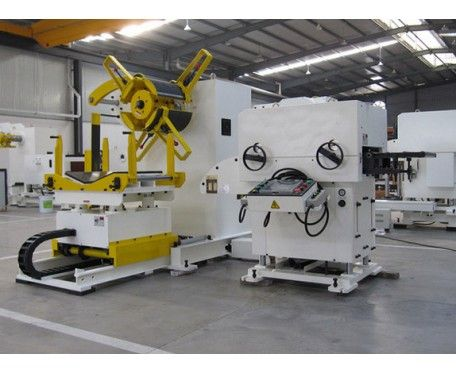 NCSF8 compact uncoiler straightener feeder for thick material
