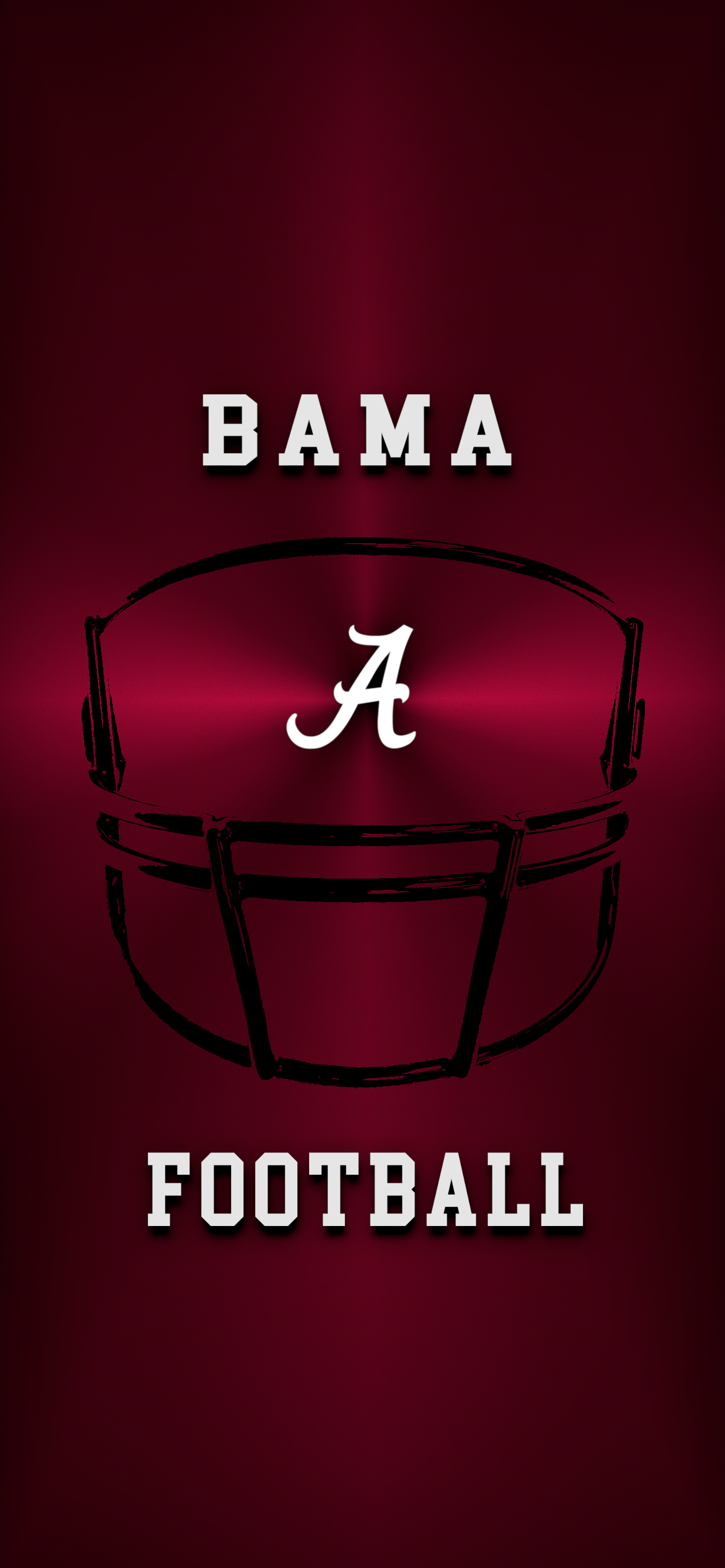 Bama Football Metal Alabama Crimson Tide Logo Crimson Tide Football Bama Football