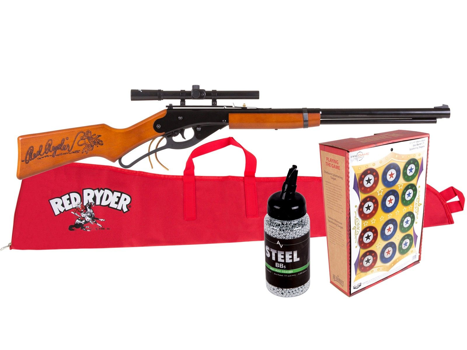 Daisy Red Ryder Lasso Scoped BB Rifle Kit  Air rifles - PyramydAir