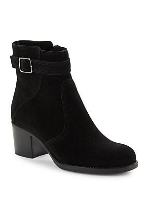 4a974adeb0 La Canadienne Brixton Suede Ankle Boots | That Shoe Life | Suede ...