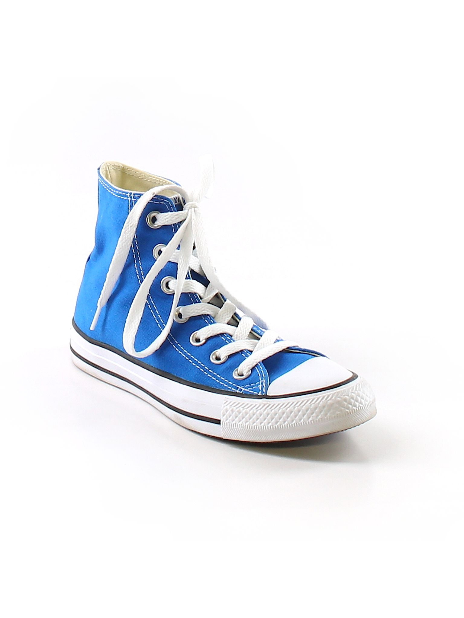 Converse Solid Blue Sneakers Size 5