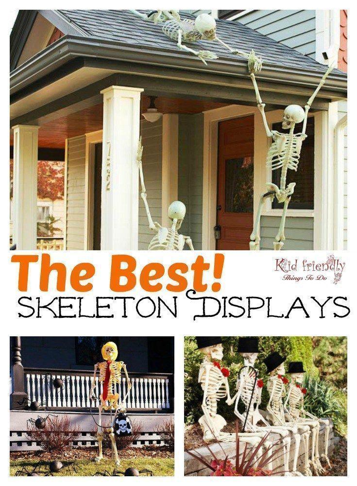 The most Hilarious DIY Skeleton Yard Displays for Halloween Decoration…