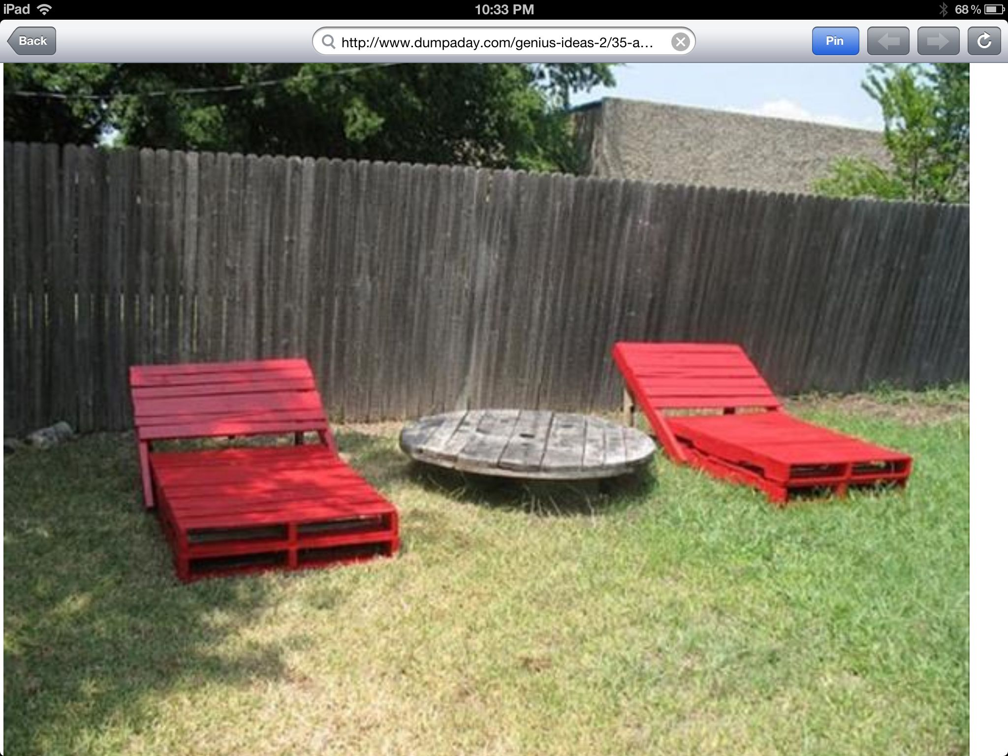 Diy pallet projects