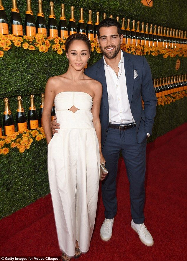 b7144c28f3 Looking good  Cara Santana and boyfriend Jesse Metcalfe looked the perfect  polo couple in ... Find this Pin and more on Veuve Clicquot Polo Event ...