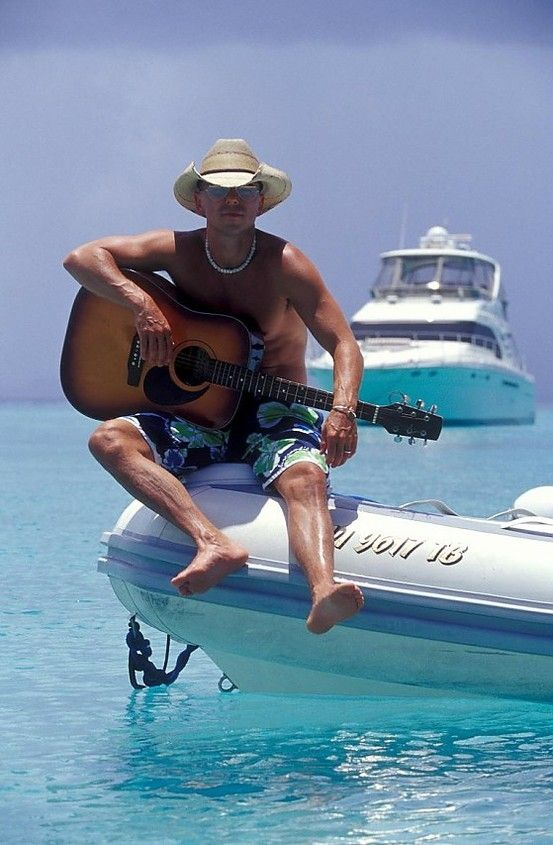This guy right here, is one of my favorite country singers. A complete beach bum! Kenny Chesney