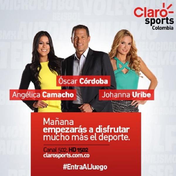 Nuestro canal CLARO SPORTS COLOMBIA 👏👏👏 EntraAlJuego